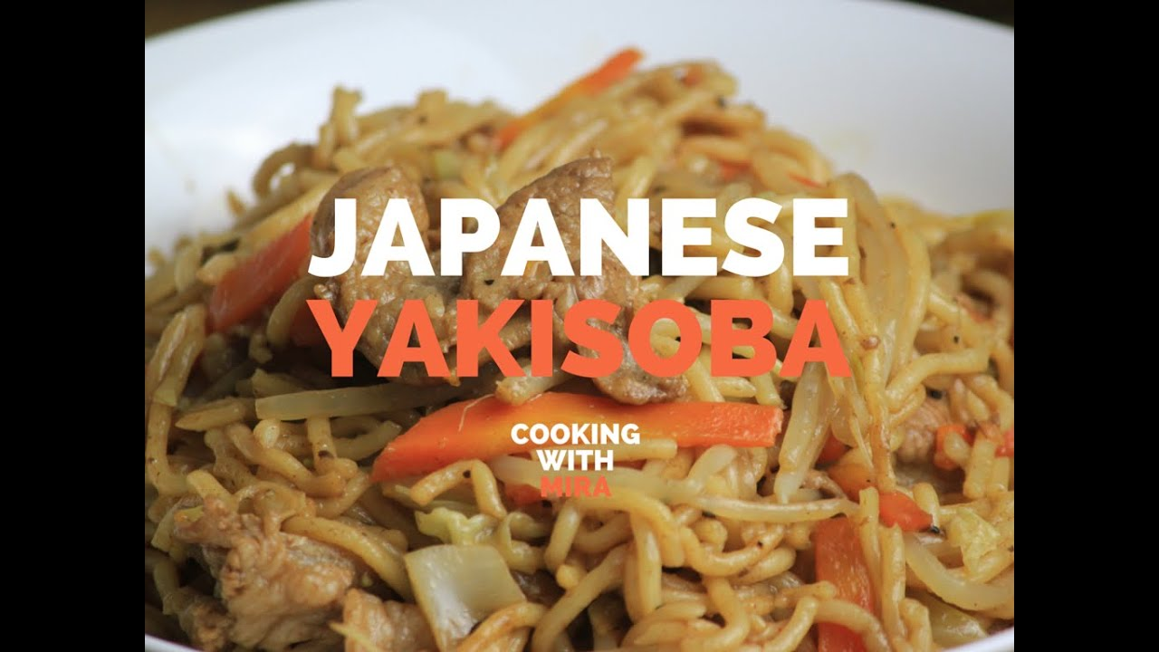 how to make yakisoba youtube