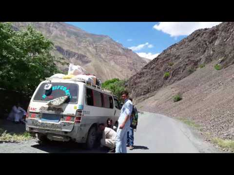 Chitral to gilgit road