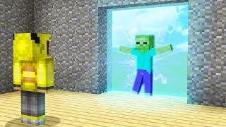ELEKTRİKLİ KAPI NASIL YAPILIR? - Minecraft