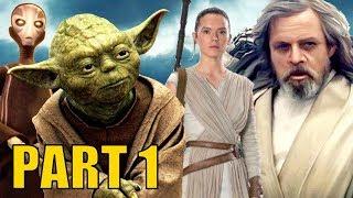 Why Yoda's True Purpose is to Teach Luke and Rey the Dark Side (Part 1)