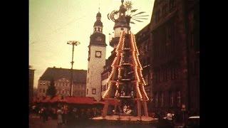 Weihnachtsmarkt Karl-Marx-Stadt [1986]