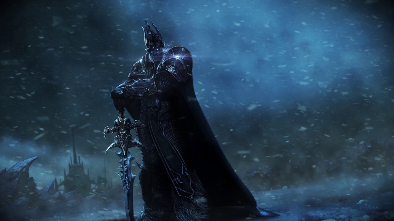 World Of Warcraft Arthas Hd Live Wallpaper Youtube