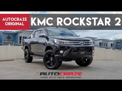 ROCKSTAR SAVAGE - Toyota Hilux Rims For Sale - KMC Rockstar 2 Mag Wheels | AutoCraze