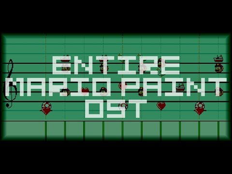 Mario Paint: 'The Entire OST!' - Mario Paint Composer