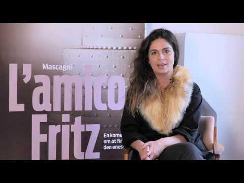 Andrea Pellegrini i L'amico Fritz, Den Jyske Opera / Danish National Opera