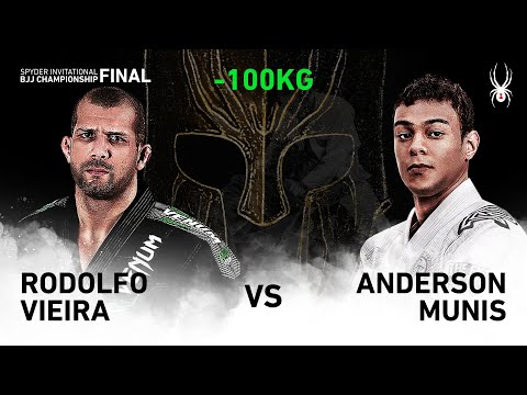 2019 SPYDER INVITATIONAL BJJ CHAMPIONSHIP FINAL -100kg Quarter Final : R.Vieira Vs A.Munis(Full)