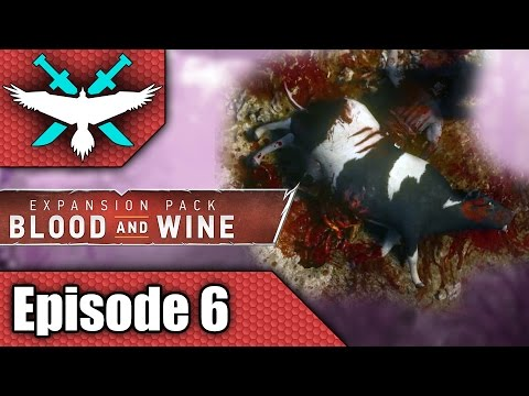 Witcher 3 Blood and Wine - Loose Ends and Flying Cows - Let's Play Gameplay