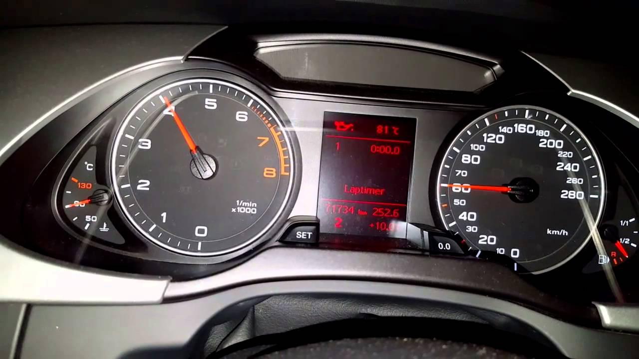 Audi A4 B8 18tfsi 120ps Youtube