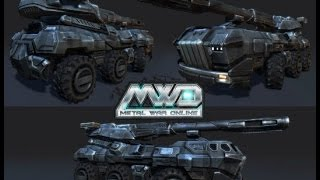 Gambar cover Metal War Online Retribution  (PC ) jogando agora com tank MIST 3 GAME PLAY