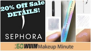 SEPHORA Semi-Annual Sale is Almost HERE! + NEW