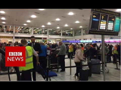 Flights suspended at