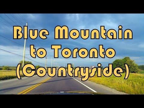 Blue Mountain Resort to Toronto (Troutbrooke Drive), Ontario, Canada