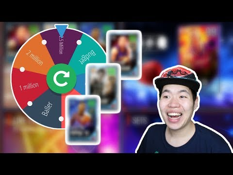 Nba Live Mobile 18 Wheel of Baller Ep.6 - Most Dominant Lineup Ever