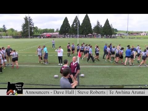Rugby Oregon 5/19/2018 - Girls Club - Clark County Cyclones vs. Grant Generals