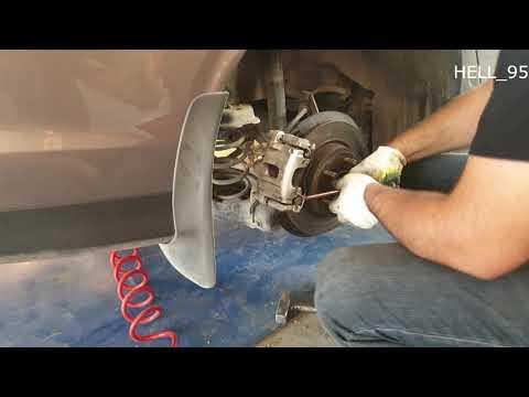 Замена задних тормозных колодок Ford focus 3 titanium 2020г