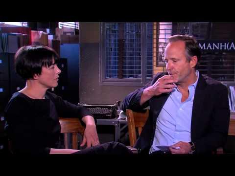 BEHIND THE FENCE: John Benjamin Hickey and Olivia Williams