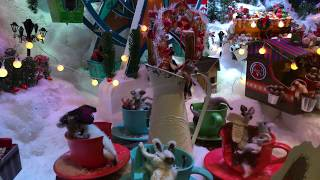 Finland Christmas Holidays Children's Department Store Window Display iPhone X K4