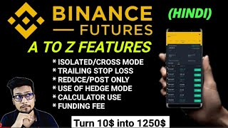 Binance Future all tools explained | Now trade like pro