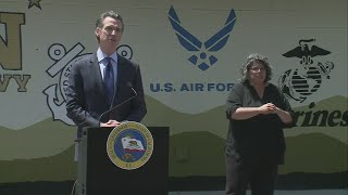 Gov. Newsom provides update on the state's response to COVID-19