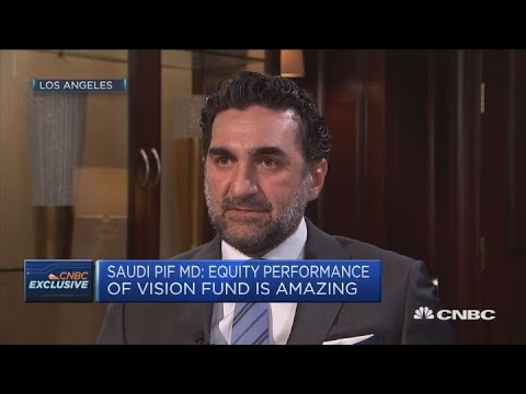 Saudi PIF managing director backs Softbank's leadership | Squawk Box Europe