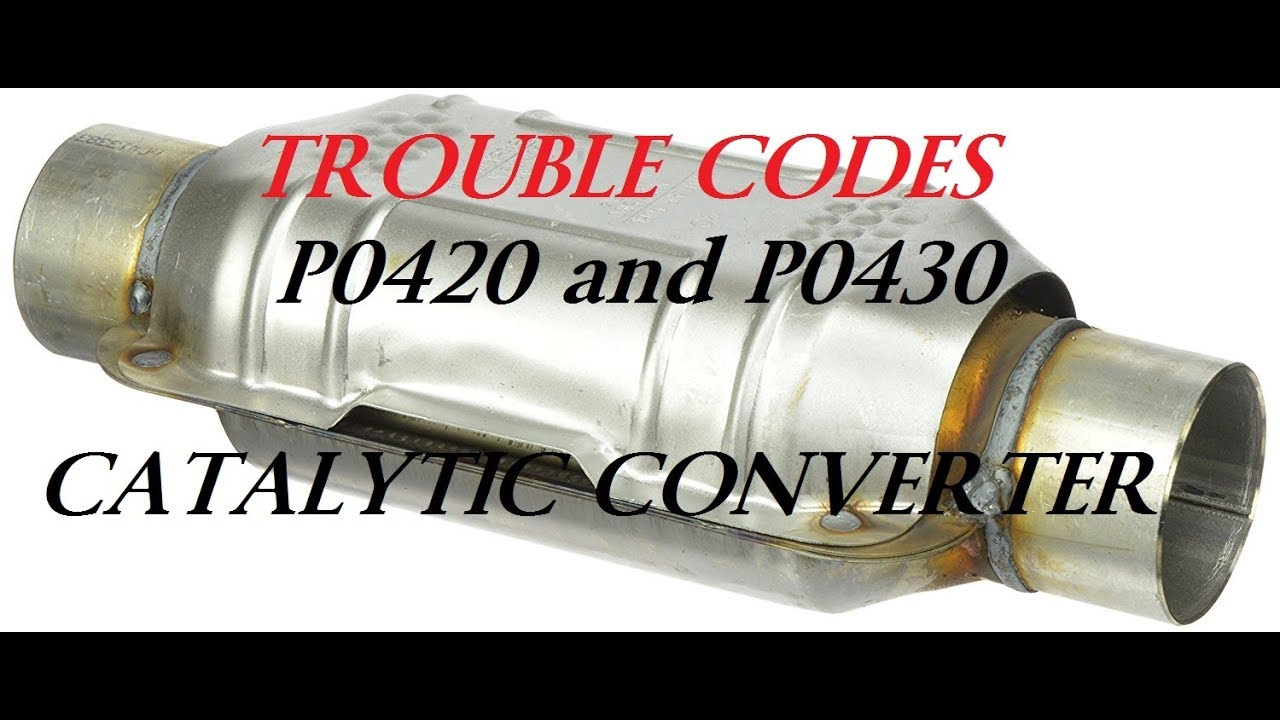 hight resolution of catalytic converter testing codes p0420 p0430 dead cats f150