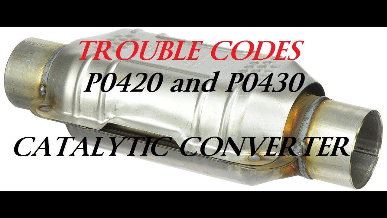 catalytic converter testing codes p0420 p0430 dead cats f150 [ 1280 x 720 Pixel ]
