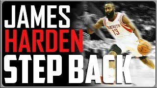 James Harden Step Back: Basketball Moves
