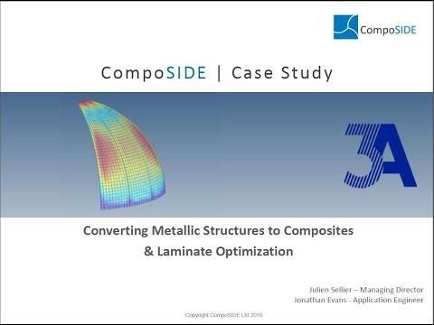 Webinar 15 - Optimization of Lightweight Composite Structures Using CompoSIDE's CMDB Addon