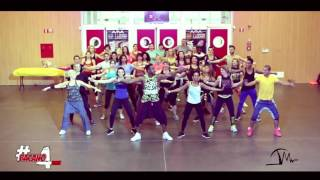 UN BESO - Anddy Caicedo (salsa-choke) * Zumba® with: Tony Mosquera