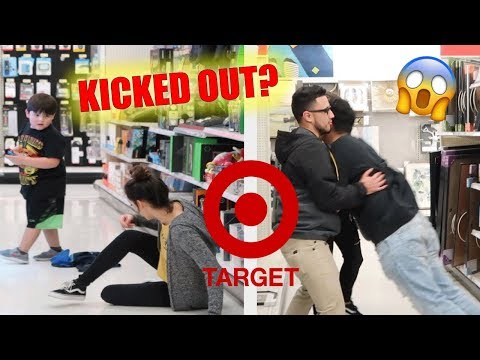 TRUTH OR DARE AT TARGET !!