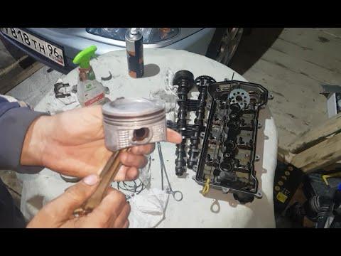 Вскрытие мотора после промывки димексидом !