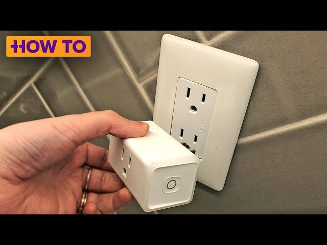 How to set up and use a smart plug