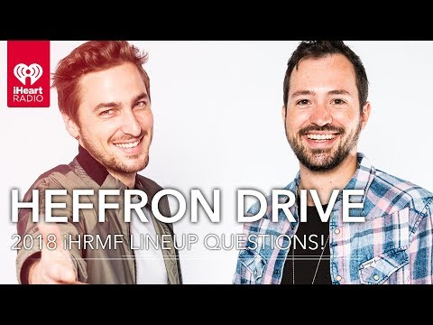 Will Heffron Drive Hang With Shawn Mendes In Vegas? | 2018 iHeartRadio Music Festival