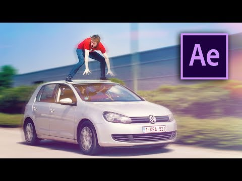 STANDING ON A RIDING CAR !! - After Effects Tutorial