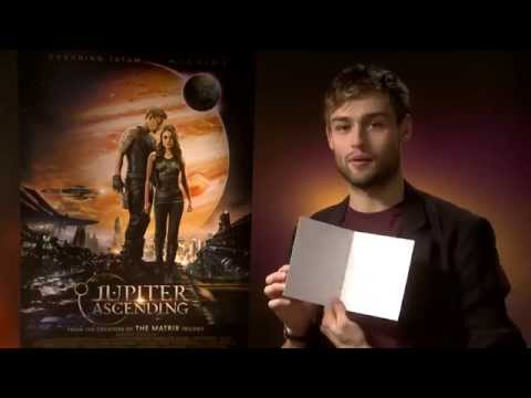 GLAMOUR Interviews Douglas Booth for the movie Jupiter Ascending