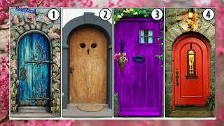 Elige tu puerta favorita y averigua cual te conduce a la felicidad