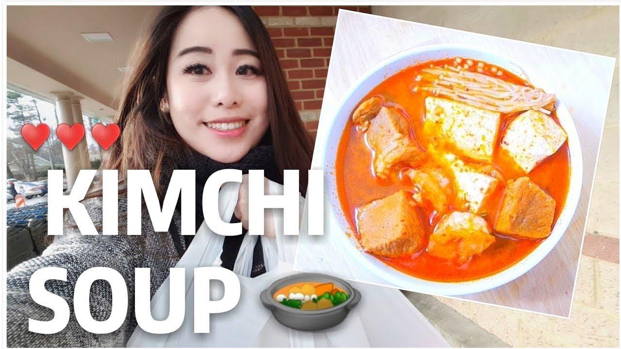 how to make kimichi soup