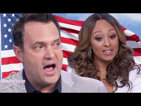 Tamera Mowry's husband Adam says African Americans should celebrate the 4th of July