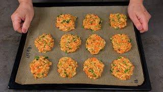 ОЛАДЬИ ИЗ КАБАЧКОВ с морковью и сыром ПЕСТРЫЕ ОЛАДЬИ В ДУХОВКЕ Вкусные Нежные и СОВСЕМ НЕЖИРНЫЕ