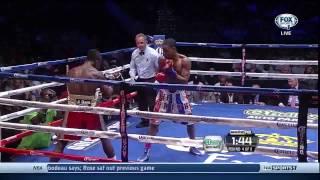 Errol Spence vs Emmanuel Lartei Lartey 2013 10 14