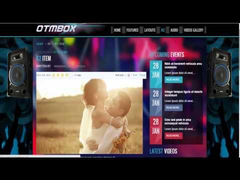 Joomla Template OT Mbox   Band and Music- Menzza.com