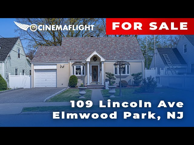 Cinemaflight Property Tours   109 Lincoln Ave, Elmwood Park, NJ