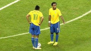 Ronaldinho ● Humiliating in Brazil's national team