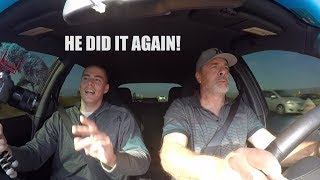 Dad Drives The New 600 WHP STI - Highway Pulls thumbnail