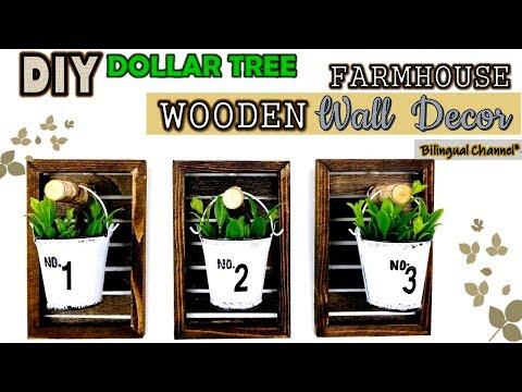 Dollar Tree DIY | Rustic Wall Decor | Wall Sconce DIY | Decoracion Rustica de Pared