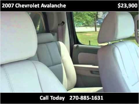 2007 chevrolet avalanche used cars hopkinsville ky youtube. Black Bedroom Furniture Sets. Home Design Ideas