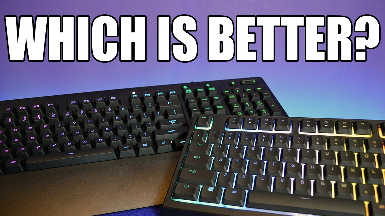 5c6e45c1cfc RAZER Ornata Chroma VS Logitech G213 Prodigy - Which is Better? - YouTube