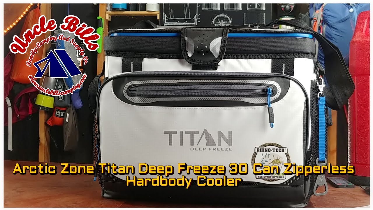 Arctic Zone Titan Deep Freeze Zipperless 16-Can Cooler by California Innovations