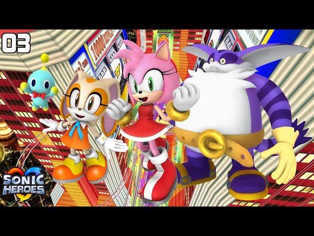 Sonic Heroes (GC) [4K] - Team Rose (3/7)