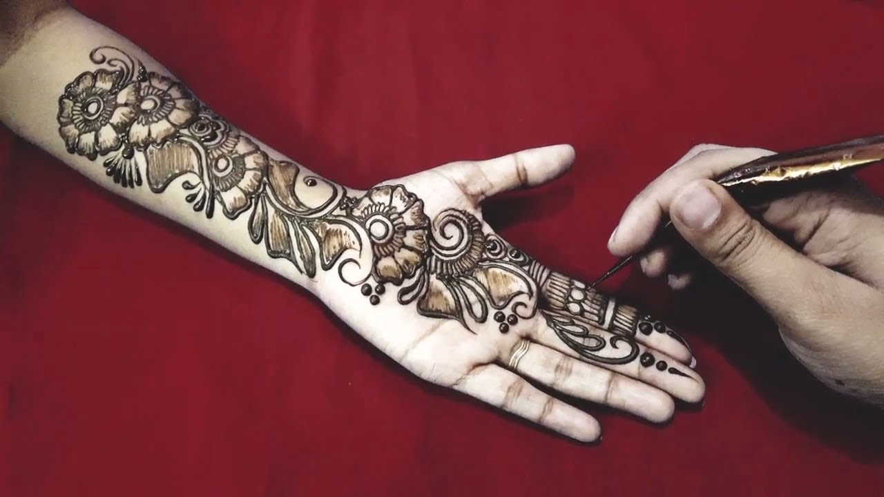 how to learn mehndi designs on hands